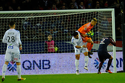February 17, 2018 - Paris, France - Paris SG Goalkeeper AREOLA ALPHONSE in action during the League 1 French championship match Paris SG against Strasbourg RC at the Parc des Princes Stadium in Paris - France..Paris SG won 5-2 (Credit Image: © Pierre Stevenin via ZUMA Wire)