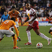 Thierry Henry, New York Red Bulls, in action during the New York Red Bulls Vs Houston Dynamo, Major League Soccer regular season match at Red Bull Arena, Harrison, New Jersey. USA. 4th October 2014. Photo Tim Clayton