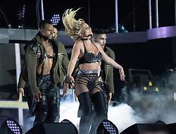 Britney Spears performs at Pride Festival in Preston Park in Brighton on 4 August, 2018.<br /><br />4 August 2018.<br /><br />Please byline: Vantagenews.com