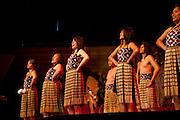 Maori welcoming ceremony, Wellington, North Island, New Zealand