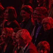 NLD/Hilversum/20120120 - Finale the Voice of Holland 2012, Jeroen Krabbe en partner Herma