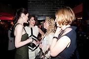 MICHELLE DOCKERY; RUTH WILSON; MIA VALENTINE; LAURA CARMICHAEL, , InStyle Best Of British Talent , Shoreditch House, Ebor Street, London, E1 6AW, 26 January 2011