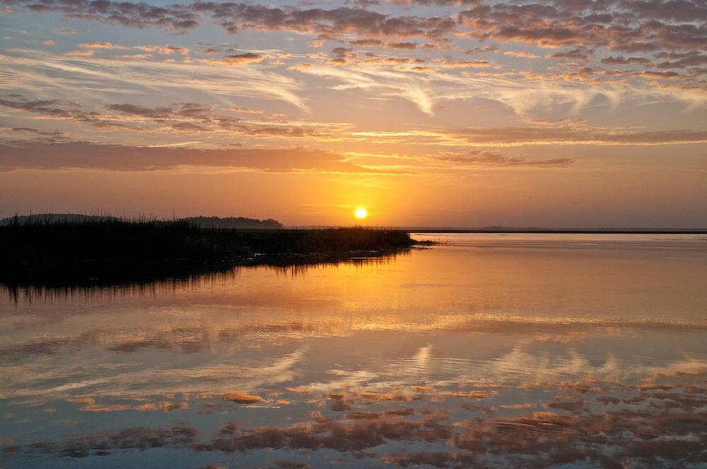 Sapelo Ferry Sunrise