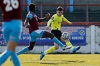 Tom Walker. Weymouth FC 1-0 Stockport CountyFC. Vanarama National League. Bob Lucas Stadium. 6.3.21