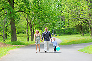 NEW HOPE, PA - MAY 5: The Swartz family is photographed May 5, 2012 at Bowman's Hill in New Hope, Pennsylvania. (Photo by William Thomas Cain/cainimages.com)