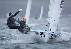 The annual RYA Youth National Championships is the UK's premier youth racing event. Day 3 with winds backing to the North the racing started on the Largs Channel.<br /> <br /> 54483, Haydn Sewell, William Heathcote, RLymYC, 420 Boy <br /> <br /> Images: Marc Turner / RYA<br /> <br /> For further information contact:<br /> <br /> Richard Aspland, <br /> RYA Racing Communications Officer (on site)<br /> E: richard.aspland@rya.org.uk<br /> m: 07469 854599