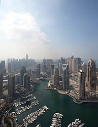 Dubai Marina, Dubai, UAE, November 6, 2012. Photo by Silvia Baron / i-Images.