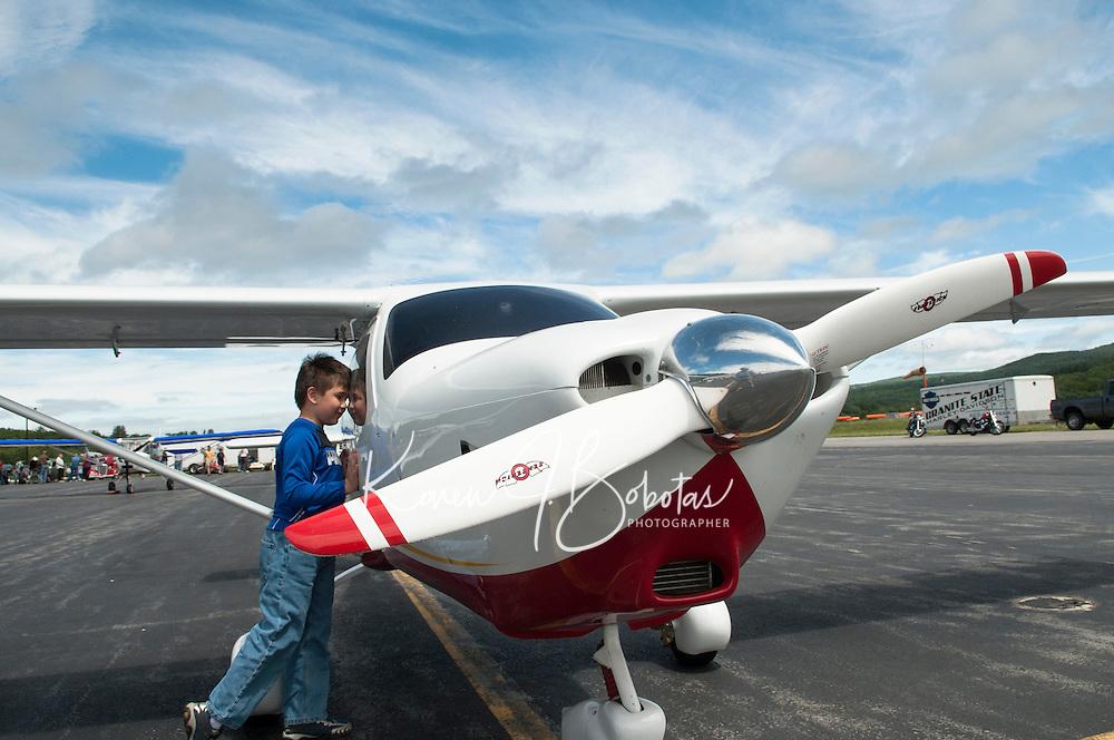 Flight over Lake Winnipesaukee with Lakes Biplane June 8, 2013.  Karen Bobotas Photographer