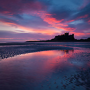Boxing Day at Bamburgh Castle, December 2007.