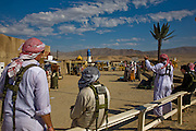 Medina Jabal Iraqi town at the National Training Center at Fort Irwin, California, used for training soldiers about to deploy to Iraq.