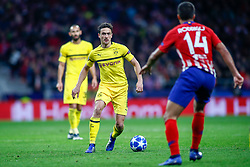 November 6, 2018 - Madrid, MADRID, SPAIN - Thomas Delaney of Borussia during the UEFA Champions League football match between Atletico de Madrid and Borussia Dormund on November 06th, 2018 at Estadio Wanda Metropolitano in Madrid, Spain. (Credit Image: © AFP7 via ZUMA Wire)