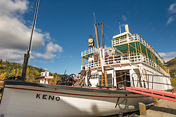S.S. Keno National Historic Site of Canada in Dawson City, Yukon