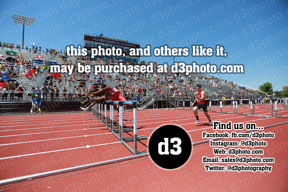 2018 NCAA Division III Outdoor Track and Field Championships Event 16 - Men's 110 Hurdles