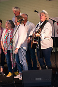 The Beverley Station Singers performing at St Matthews Hall, Guildford, part of the 2019 Guildford Songfest