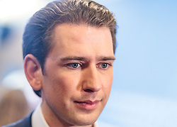 25.02.2018, Innsbruck, AUT, Landtagswahl in Tirol 2018, im Bild Bundeskanzler Sebastian Kurz (OeVP) // Federal Chancellor Sebastian Kurz (OeVP) during first Statements for the State election in Tyrol 2018. Innsbruck, Austria on 2018/02/25. EXPA Pictures © 2018, PhotoCredit: EXPA/ JFK