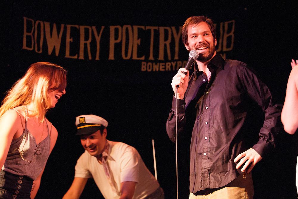 Schtick or Treat - November 1, 2011 - Bowery Poetry Club - Mark Normand, Matt Ruby