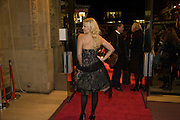 LIZ FULLER, Cirque de Soleil London premiere of Quidam. Royal albert Hall. 6 January 2009