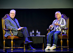 Scottish Brexit secretary Mike Russell MSP talked candidly to an audience at the Edinburgh Fringe in the show 'In conversation with... Mike Russell' hosted by comedian Susan Morrison.<br /> <br /> © Dave Johnston/ EEm