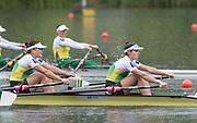 Lucerne, SWITZERLAND,  2016 FISA WCII, Women's Double Sculls, AUS W2X Bow Sally KEHOE, Genevieve HORTON, Sunday, 29/05/2016, <br /> [Mandatory Credit; Peter SPURRIER/Intersport-images]