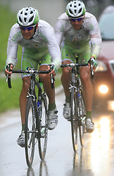 Gregor Gazvoda of Slovenia (Perutnina Ptuj) during 3rd stage of the 15th Tour de Slovenie from Skofja Loka to Krvavec (129,5 km), on June 13,2008, Slovenia. (Photo by Vid Ponikvar / Sportal Images)/ Sportida)