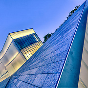 Bloch Building addition by architect Steven Holl at the Nelson Atkins Museum of Art in Kansas City, Missouri.