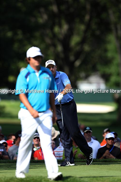 Jim FURYK (USA) and Jason DUFNER (USA) during fourth round US PGA Championship 2013,Oak Hill CC,