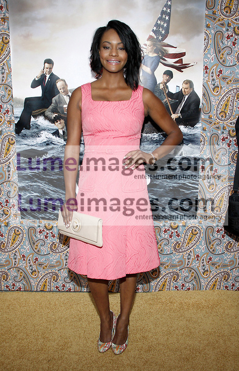 """Sufe Bradshaw at the HBO's Season 3 premiere of """"Veep"""" held at the Paramount Studios in Hollywood, USA on March 24, 2014."""