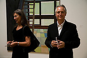 VICTORIA MIRO AND HER HUSBAND WARNER, Private view and dinner for the opening of the Peter Doig exhibition. Tate Britain. Millbank. London. 4 February 2008.  *** Local Caption *** -DO NOT ARCHIVE-© Copyright Photograph by Dafydd Jones. 248 Clapham Rd. London SW9 0PZ. Tel 0207 820 0771. www.dafjones.com.
