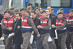Mugla Turkey: Failed Coup Trial 20th Feb 2017
