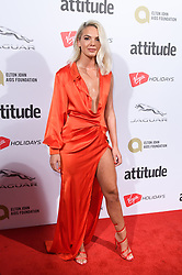 EDITORIAL USE ONLY<br /> Louisa Johnson attends the Virgin Holidays Attitude Awards at the Roundhouse, London.