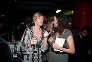 NINI MINTER; HELEN THORPE, ICA Annual Institute of Contemporary Arts Fundraising Gala. Koko's Camden. London. 24 March 2010