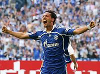 Jubel 1:0 Kevin Kuranyi Schalke<br /> Bundesliga FC Schalke 04 - 1. FC Nuernberg<br /> Nürnberg<br /> <br /> Norway only