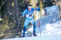 Fabien Claude of France during the IBU World Championships Biathlon 20km Individual Men competition on February 17, 2021 in Pokljuka, Slovenia. Photo by Primoz Lovric / Sportida
