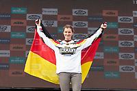 Germany's Maria Franke during the last day World trophy class of the FIM international six days of enduro 2016 in Navarra, Spain. October 11, 2016. (ALTERPHOTOS/Rodrigo Jimenez)