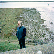 Colin Pillinger on the Essex Marshes, the spot he believes the original HMS Beagle, the 19th-century ship in which Charles Darwin circumnavigated the world, now lies. Pillinger named his Mars probe Beagle 2 in its honour. He is best known for his 2003 attempt to land the spacecraft on Mars, which failed. Colin Trevor Pillinger, CBE (9 May 1943 – 7 May 2014), was a planetary scientist at the Open University in the UK. He was the principal investigator for the British failed Beagle 2 Mars lander project.