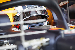 February 28, 2019 - Spain - Pierre Gasly (Aston Martin Red Bull Racing) RD15 car, seen in action during the winter testing days at the Circuit de Catalunya in Montmelo  (Credit Image: © Fernando Pidal/SOPA Images via ZUMA Wire)