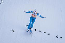 01.01.2021, Olympiaschanze, Garmisch Partenkirchen, GER, FIS Weltcup Skisprung, Vierschanzentournee, Garmisch Partenkirchen, Einzelbewerb, Herren, im Bild Halvor Egner Granerud (NOR) // Halvor Egner Granerud of Norway during the men's individual competition for the Four Hills Tournament of FIS Ski Jumping World Cup at the Olympiaschanze in Garmisch Partenkirchen, Germany on 2021/01/01. EXPA Pictures © 2020, PhotoCredit: EXPA/ JFK