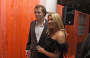 Tom Parker Bowles and Sarah Buys, Tom Parker Bowles, Susan Hill and Matthew Rice host party to launch 'E is For Eating' Kensington Place. 3 November 2004.  ONE TIME USE ONLY - DO NOT ARCHIVE  © Copyright Photograph by Dafydd Jones 66 Stockwell Park Rd. London SW9 0DA Tel 020 7733 0108 www.dafjones.com