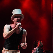 Jake Shears at RiZE Festival 2018 at RiZE Festival 2018 at Hylands Park, Chelmsford on 17 August 2018, UK.