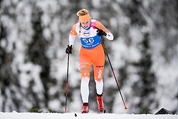 January 11, 2018 - GSbu, NORWAY - 180111 Anne Marthe Brenden competes in the women's sprint classic technique qualification during the Norwegian Championship on January 11, 2018 in GÅ'sbu..Photo: Jon Olav Nesvold / BILDBYRN / kod JE / 160126 (Credit Image: © Jon Olav Nesvold/Bildbyran via ZUMA Wire)