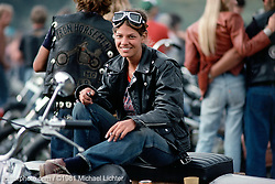 70's Portrait, 2-Wheelers Steak Fry. CO. 1981<br /> <br /> Limited Edition Print from an edition of 20. Photo ©1981 Michael Lichter.