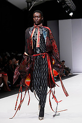 Johannesburg 251018 Day 3 of the 21st SA Fashion week is taking place in Sandton North of Johannesburg.BRICS countries designers show cased their work.Photo Simphiwe Mbokazi/African News Agency ANA 2