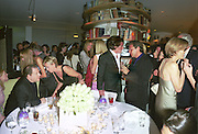 Harvey Weinstein, Tina Brown, Hugh Grant Mathew Freud and Emma Soames. Pre Bafta party jointly hosted by Tina Brown and Elizabeth Murdoch. St. Martin's Lane Hotel. 8 April 2000<br />© Copyright Photograph by Dafydd Jones 66 Stockwell Park Rd. London SW9 0DA Tel 010 7733 0108 www.dafjones.com