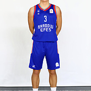 Anadolu Efes's Karahan Tuan Efeoglu during the 2020-2021 Garanti BBVA BGL Media Day at the Anadolu Efes Sports Hall on February 02, 2021 in İstanbul, Turkey. Photo by Aykut AKICI/TURKPIX