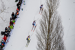 March 16, 2019 - –Stersund, Sweden - 190316 Fredrik Lindström of Sweden competes in the Men's 4x7,5 km Relay during the IBU World Championships Biathlon on March 16, 2019 in Östersund..Photo: Petter Arvidson / BILDBYRÃ…N / kod PA / 92269 (Credit Image: © Petter Arvidson/Bildbyran via ZUMA Press)