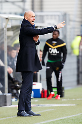 coach Mitchell van der Gaag of Excelsior during the Dutch Eredivisie match between sbv Excelsior Rotterdam and NAC Breda at Van Donge & De Roo stadium on February 11, 2018 in Rotterdam, The Netherlands