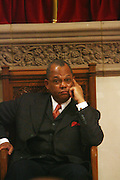 Rev. Calvin Butts at The Cornell West Talk held at The Abyssynia Baptist Church in Harlem , NYC April 1, 2009