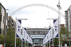 A general view of Wembley Stadium prior to the match