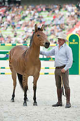 Zorse demonstration - Closing Ceremony - Alltech FEI World Equestrian Games™ 2014 - Normandy, France.<br /> © Hippo Foto Team - Jon Stroud<br /> 07/09/14