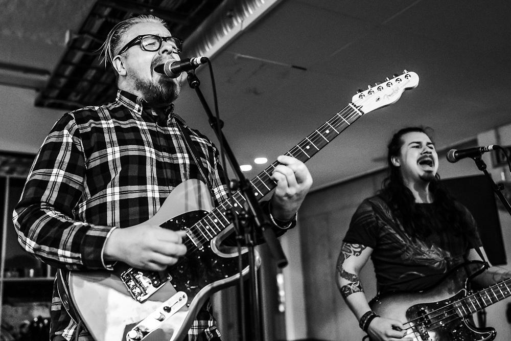 Icelandic rock band KUL at Iceland Airwaves